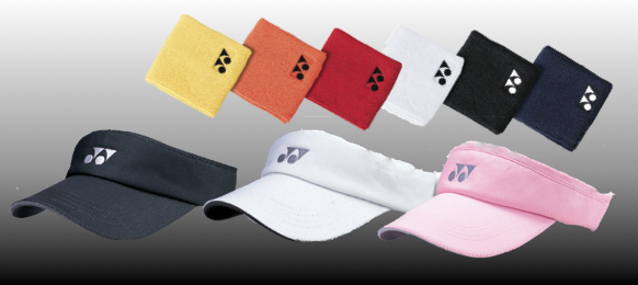 Sports Visor + 3� Wristband Pair